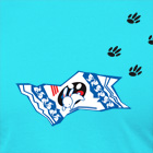 White Rabbit Candy Shirt in Turquoise